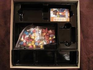 Wypraska wewnątrz pudełka